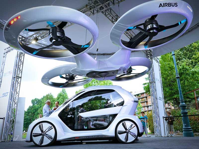Airbus eVTOL concept